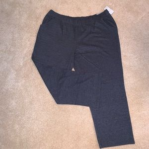 NWT Catherine's 3x Gray stretchy pants